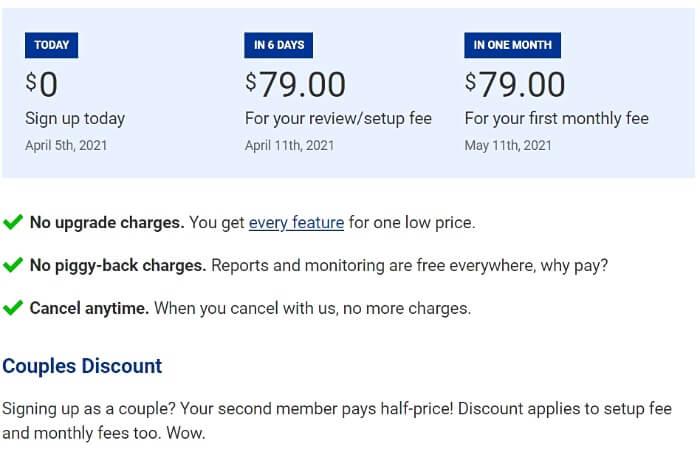 Sky Blue Credit Repair Prices