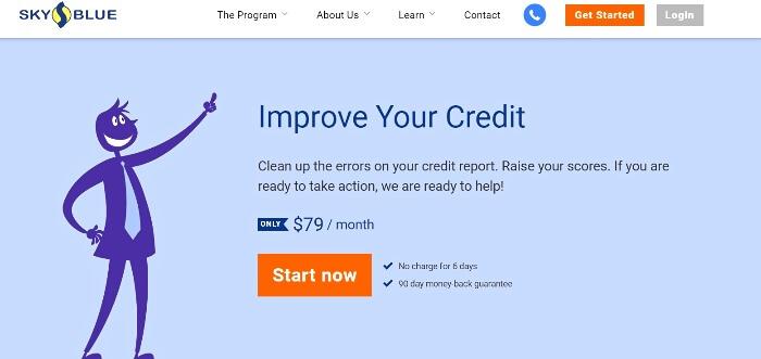 What is Sky Blue Credit Repair